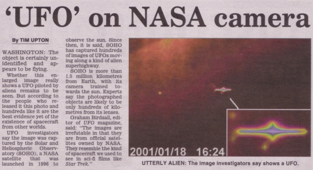 Huge UFO Mothership Captured By NASA